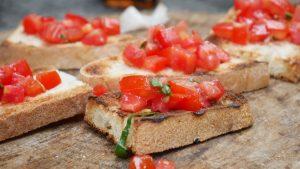 brushetta mastic tomates